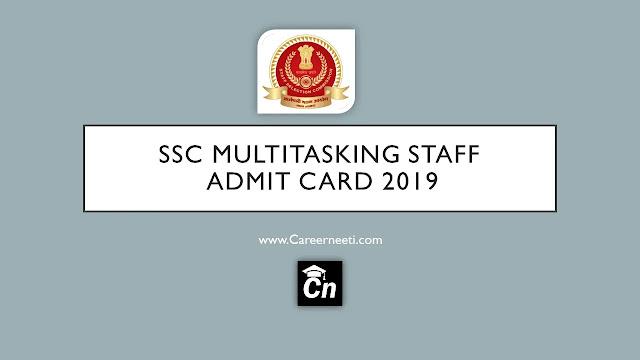 SSC Multitasking staff Admit Card 2019, www.careerneeti.com, Careerneeti logo