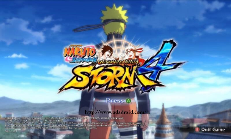 Naruto Ultimate Ninja Storm 4 V1 By Alwan Apk Narsen Mod