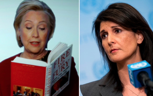 Nikki Haley Thinks Hillary's Cameo Appearance Ruined The Grammys
