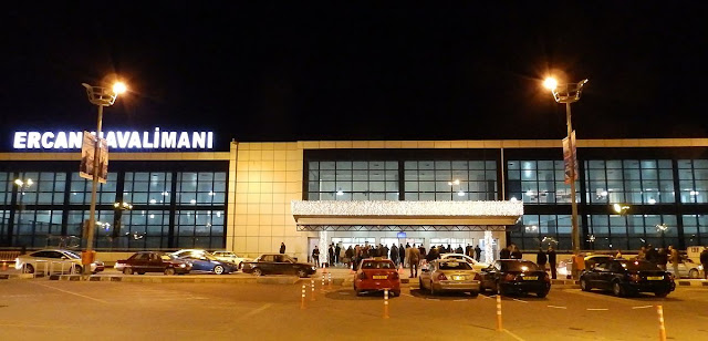 Ercan airport become very busy as foreign students arrives