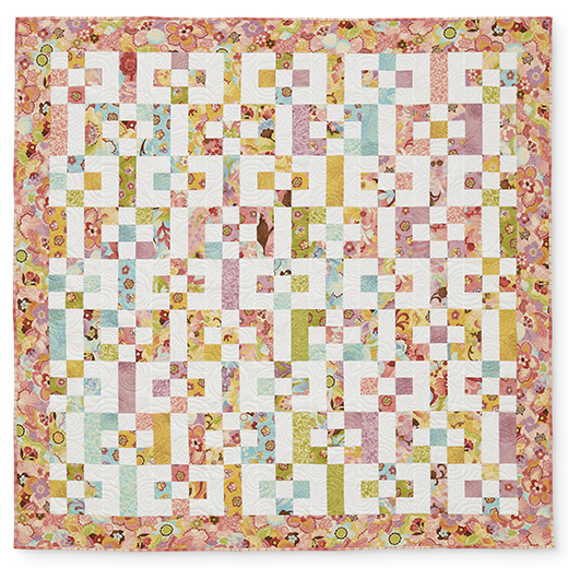 Add It Up Quilt designed Wendy Barker Paull for All People Quilt