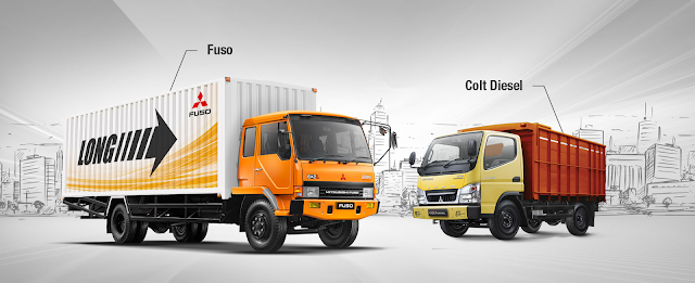 Daftar Harga Mitsubishi BUS & Truck Colt Deasel FE Series Di Bandung