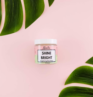 shine bright face mask by moella beauty, face masks for acne