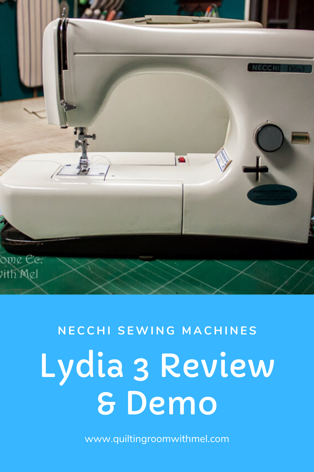 necchi lydia 3 - type 544 sewing machine