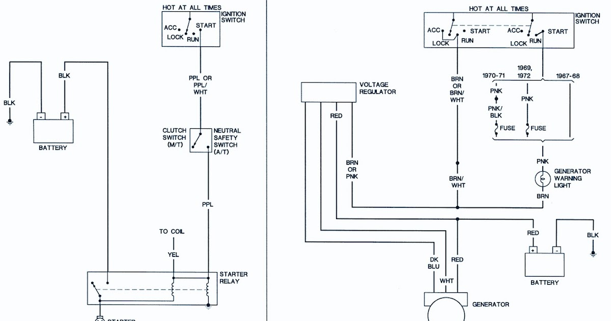 1967 69 Chevrolet Camaro Wirng Diagram | Diagram for Reference