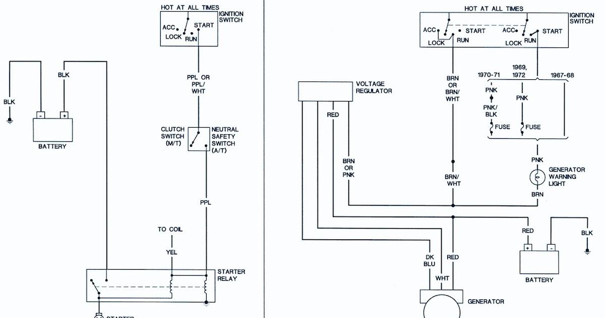 1967 camaro wiring diagram voltage regulator