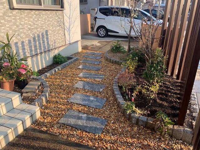 京都市にお住いのW邸の外構工事
