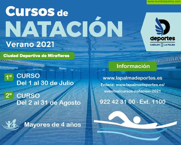El Cabildo abre el plazo de inscripción para el V Campus Lúdico y los cursos de natación