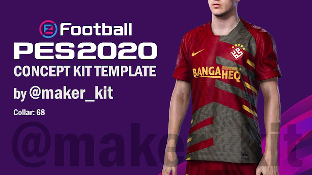 eFootball PES2020 Concept Kit Template by @maker_kit