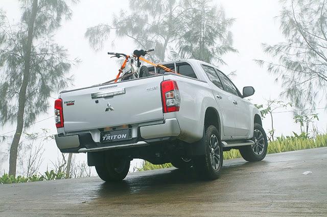 test drive new triton plataran bromo