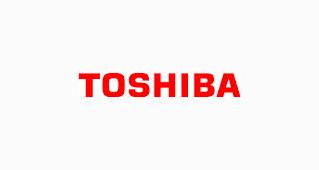 خط لوجو TOSHIBA