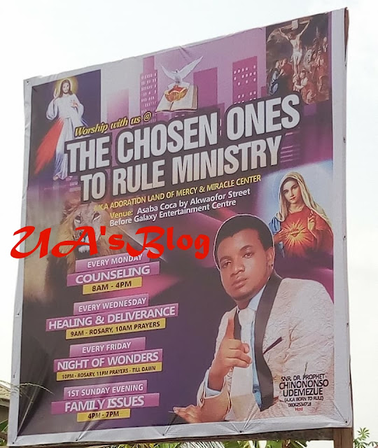 UNBELIEVABLE!! Prophet Arrested For Allegedly Having Sex With 10-Year-Old Boy In Asaba (Photos)