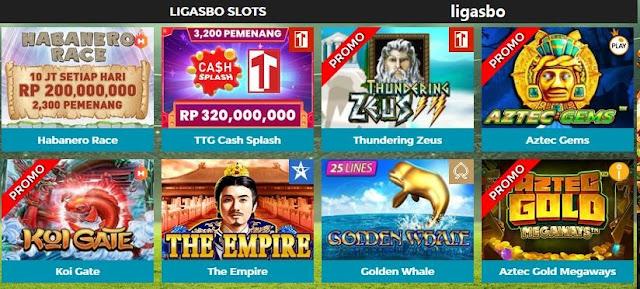 Judi Slot Online Uang Asli Deposit Termurah: Ligasbo