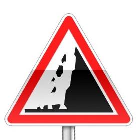 لافتات الخطر