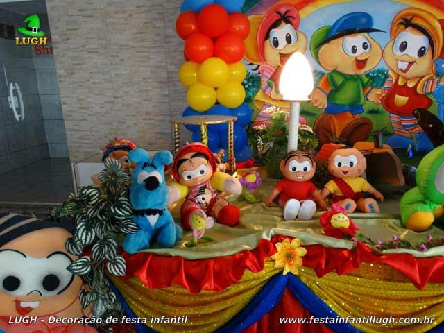 Festa infantil Turma da Mônica - Decoração de aniversário