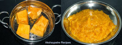 pumpkin paste to make appe