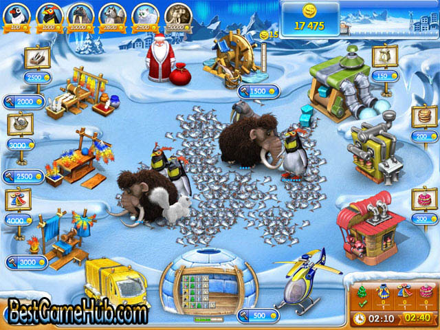 Farm Frenzy 3 Ice Age High Compressed PC Game Free Download
