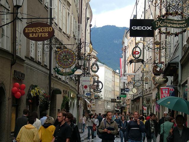 Getriedegasse, Salzburg, Austria