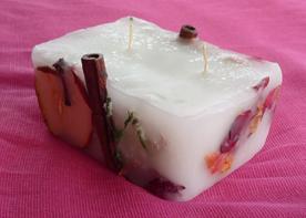 Κερί με μήλο και κανέλα