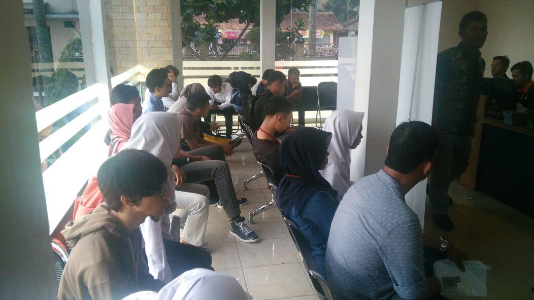 Pemohon Surat Keterangan Catatan Kepolisian Skck Di Polres