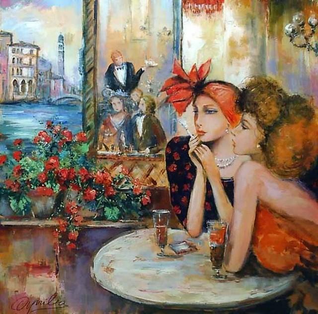 Современные художники Италии. Lovilla Chantal 3