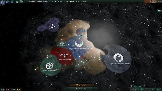 Territory Borders | Stellaris Screenshot