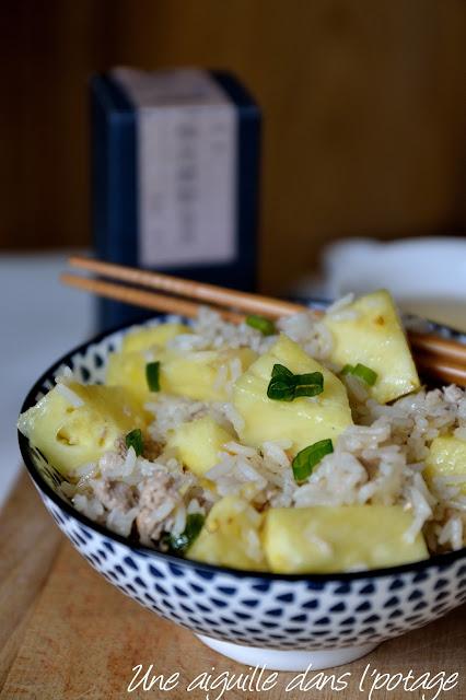 Riz frit au porc et à l'ananas , de Ken Hom