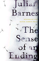 The Sense of an Ending by Julian Barnes book cover