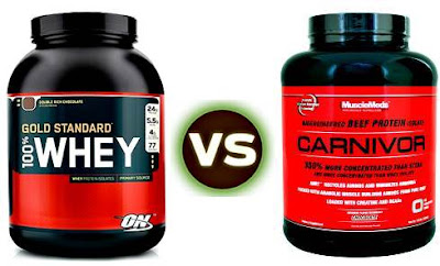 Whey protein vs Beef protein