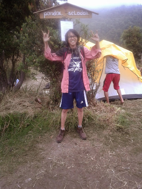plang Pondok Seladah, gunung Papandayan