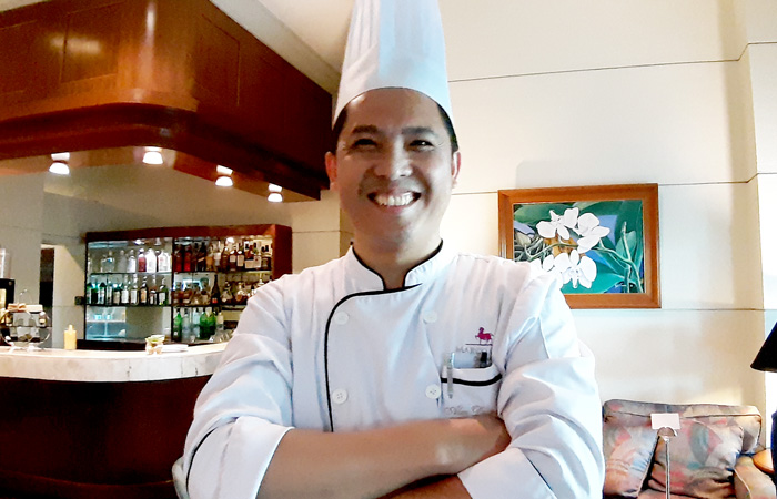 Marco Polo Davao Executive Chef, Alex Destriza.