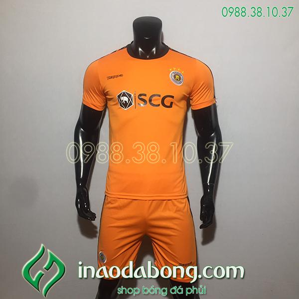 Áo bóng đá câu lạc bộ hà Nội màu cam 2020