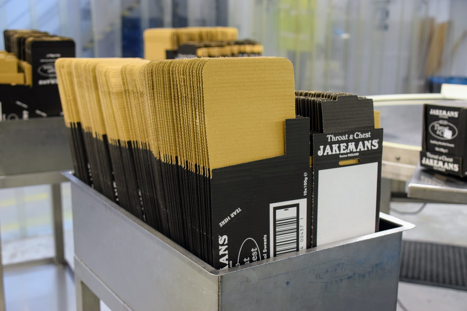 , Snapshots of the Jakemans Factory Tour
