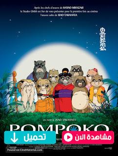 مشاهدة وتحميل فيلم حرب الراكون Pom Poko 1994 مترجم عربي