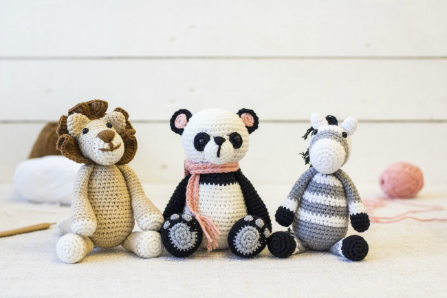 three-crocheted-soft-toys-from-crafters-compnion