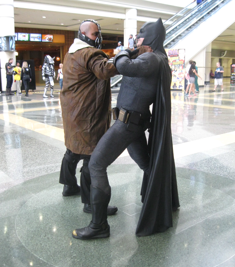 Bane vs Batman Cosplay MegaCon Orlando 2018