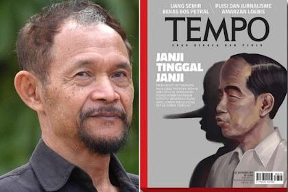 Soal Cover Hidung Jokowi, Pendiri Tempo Akhirnya Angkat Bicara