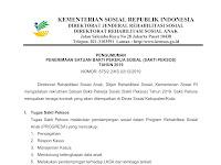 Lowongan Kerja Sakti Peksos Kementerian Sosial