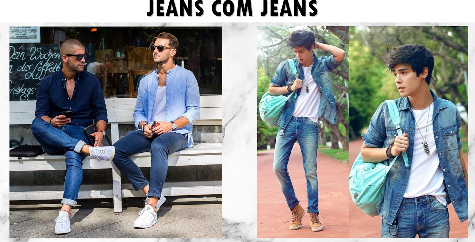 Inspiração da semana  Camisa jeans - Vini Pratez  415115d9b9f11