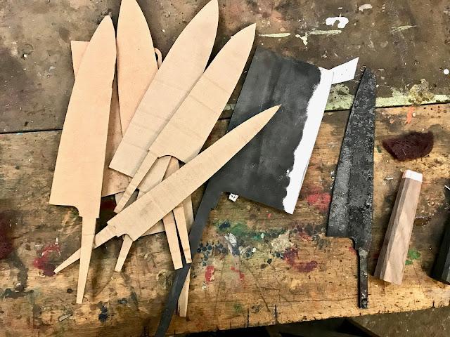 MsMarmiteLover: Knife Making At Blenheim Forge
