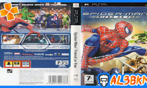 تحميل لعبة Spider-Man: Friend or Foe psp iso مضغوطة لمحاكي ppsspp