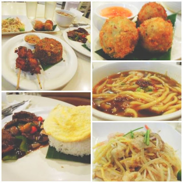 Dinner at My Singapore Food Street