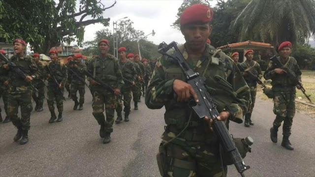 Venezuela realiza ejercicios militares Escudo Bolivariano 2020