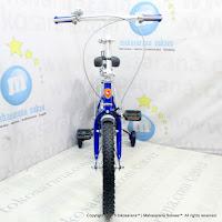 16 Inch Evergreen EG116 Magnificent Folding Bike Blue