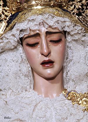 Horarios e itinerarios de las salidas extraordinarias de la Virgen de la Encarnación de Sevilla