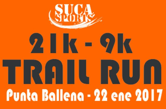 21k y 9k Trail Run Punta Ballena (Solanas - Maldonado, 22/ene/2017)