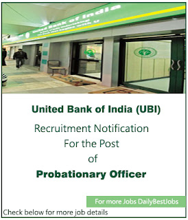 UBI Job United Bank of India