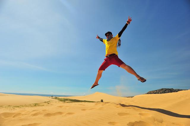 Trải nghiệm khu du lịch dã ngoại Tanyoli và đồi cát Sơn Hải