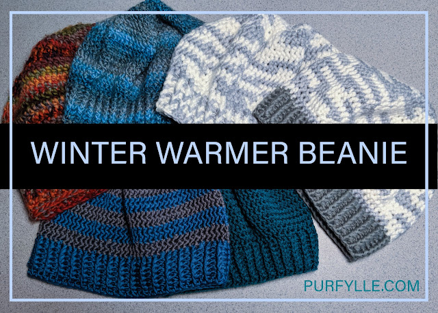 Winter Warmer Beanie Crochet Pattern