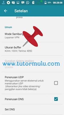 Cara mensetting Buffer Di HTTP injector
